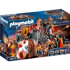 Playmobil 70221 - Forteresse volcanique des Burnham Raider Novelmore
