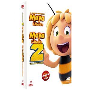Coffret maya l'abeille 1 et 2 : la grande aventure de maya l'abeille ; les jeux du miel [DVD]