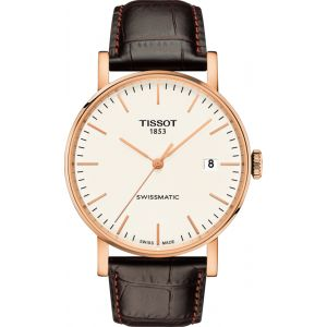 Tissot Montre Homme Everytime Marron