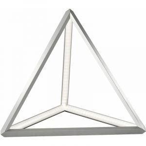Fischer Lampe de chevet LED pyramide ALU chambre éclairage lampe de lecture triangle 50208