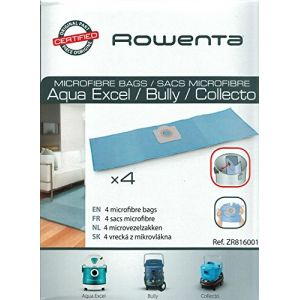 Rowenta ZR816001 - 4 sacs en microfibre pour aspirateurs
