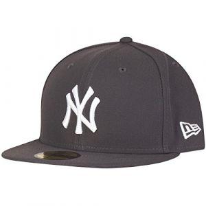 A New Era Mlb Basic Ny Yankees casquette graphite/white