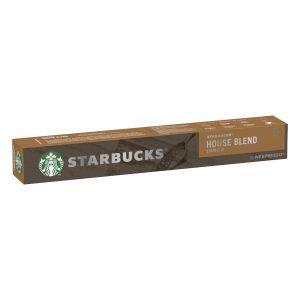Nestlé Nespresso House Blend Starbucks - La boîte de 10 capsules
