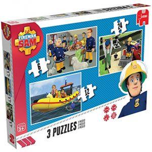 Jumbo 3 puzzles Sam Le Pompier
