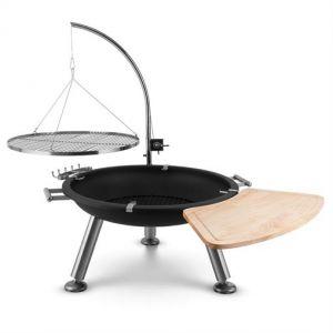 Blumfeldt Turion - Brasero grill pivotant à suspension à charbon