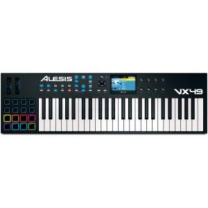 Alesis VX49 - Clavier maître MIDI 49 notes écran 16 pads