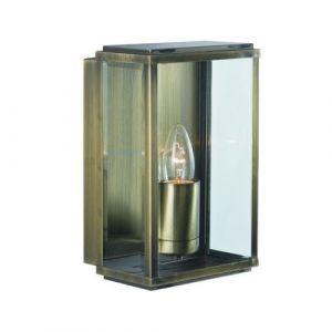 Applique 1 ampoule Outdoor & Porch, en laiton antique et verre 02 SEARCHLIGHT
