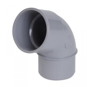 Nicoll CL6 - Coude Mâle Femelle PVC 67°30 Diamètre 63 mm