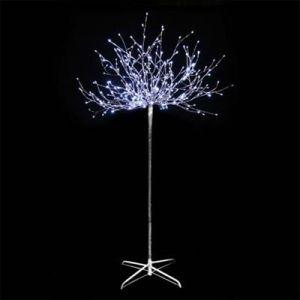 Festilight Arbre lumineux avec branches argentées
