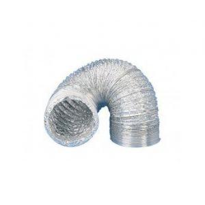Winflex Ventilation Gaine aluminium pour extracteur et aérateur d'air Ø 100 mm x 3 m ventilation conduit