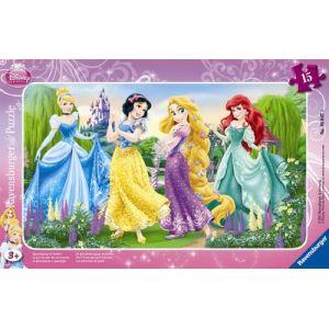 Ravensburger Puzzle cadre La promenade des princesses 15 pièces