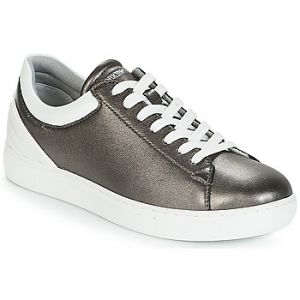 Emporio Armani Baskets basses BRUNA Gris - Taille 36,37,38,39,40,41