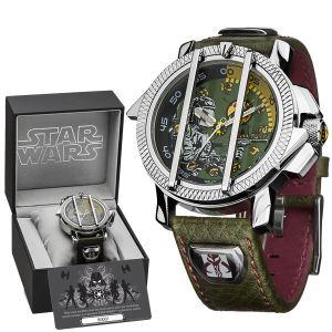 STAR140 - Montre mixte Star Wars collector Boba Fett