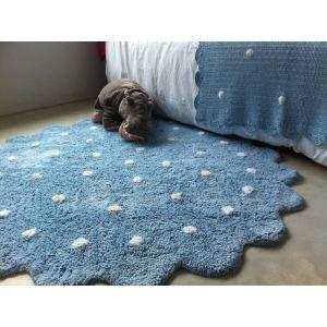 tapis rond bleu comparer 235 offres. Black Bedroom Furniture Sets. Home Design Ideas