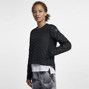 Nike Veste de Running Veste de running AeroLoft pour Femme - Noir - Taille M