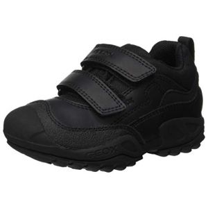 Geox Chaussures enfant J NEW SAVAGE BOY B A Noir - Taille 36,37,38,39,40,41,26,27,28,29,30,31,32,33,34,35