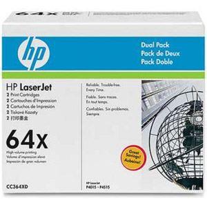 HP CC364XD - Pack de 2 toners 64X noirs 24000 pages