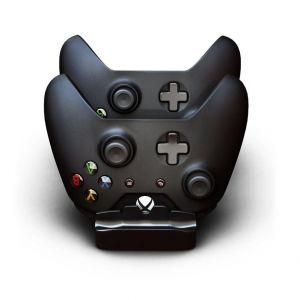 Mondpalast Station d'accueil Chargeur + 2 batteries 1200mah pour manette Xbox One