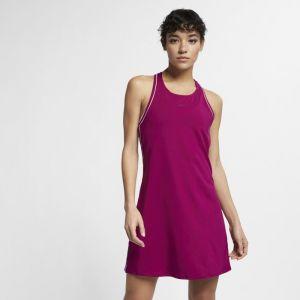 Nike Robe de tennis Court Dri-FIT pour Femme - Pourpre - Couleur Pourpre - Taille M