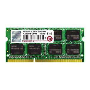 Transcend TS1GSK64W6H - Barrette mémoire 8 Go DDR3L 1600 SO-DIMM CL11 2Rx8