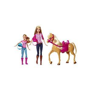 Mattel Barbie & Stacie leçon de cheval