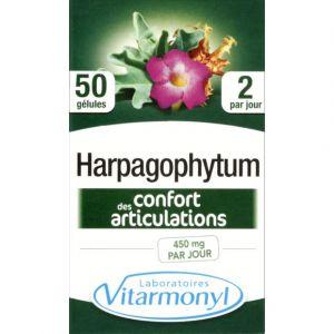 Laboratoires Vitarmonyl Harpagophytum - Confort des articulations - 50 gélules