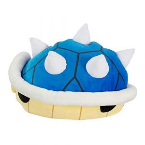 Tomy Mario Kart - Peluche 40 cm - Carapace Bleue