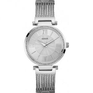 Guess W0638L - Montre pour femme avec bracelet en acier