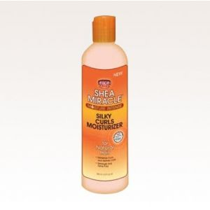 African Pride Shea Miracle Silky curls moisturizer