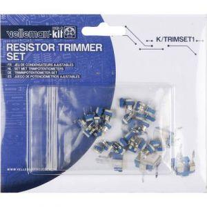 Velleman Assortiment de trimmer K/TRIMSET1 0.1 W 1 pc(s)
