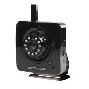 König SAS-IPCAM100B - Caméra IP WIFI compacte haute performance