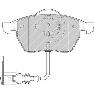 Ferodo 4 plaquettes de frein FDB1463