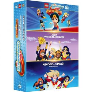 DC Super Hero Girls - Coffret 3 DVD