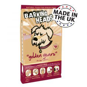 Barking Heads Golden Years Nourriture pour Chien, 6 kg