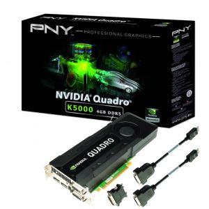 PNY VCQK5000-PB - Carte graphique Quadro K5000 4 Go GDDR5 PCI-E 3.0