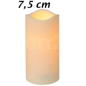 Best Season Bougie LED intérieur/extérieur avec minuteur (7,5 cm)