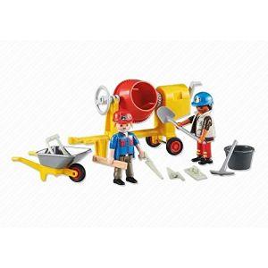 Playmobil 6339 - Ouvriers avec bétonnière