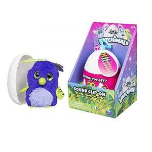 Hatchimals Egg Soft Plush Clip On With Sounds Caractère mystérieux