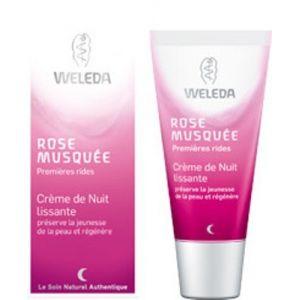 Weleda Rose musquée - Crème de nuit lissante