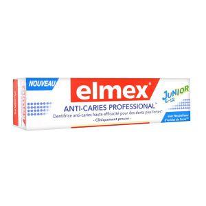 Elmex Junior - Dentifrice anti-caries professional