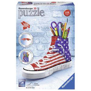 Ravensburger Puzzle 3D Sneaker 108 pièces La Reine des Neiges 2