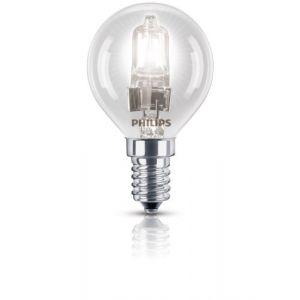 Philips 925647944207 - Ampoule Eco-Halogène Sphérique Culot E14 18 Watts consommés (Equivalence incandescence  23W)
