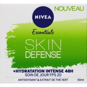 Nivea Essentials Skin Defense - Soin du jour FPS 20