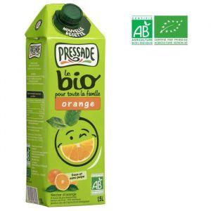 Pressade Nectar de jus d'orange doux et sans pulpe - La brique de 1,5L
