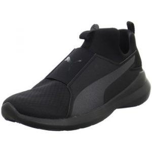 Puma Rebel Mid, Sneakers Basses Femme, Noir (Black), 40.5 EU