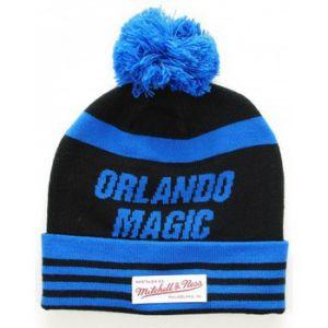 Mitchell & ness Mitchell Ness Bonnet Pompon Orlando Magic Bleu roi Noir