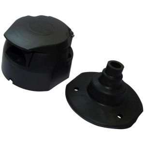 Aerzetix : Fiche femelle 7pin prise connecteur de remorque 7 broches 12V C12379 attelage faisceau câble câblage feux arrières stop