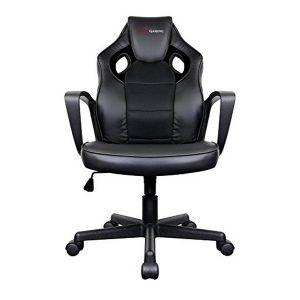 Tacens Chaise de jeu MGC0BK Métal PVC Noir