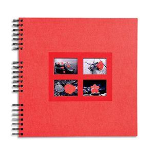 Exacompta Album photos pochettes Fantaisie - capacité 64 photos - 11x15 cm - 3 coloris assortis