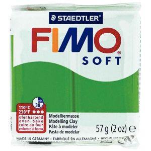 Fimo Pate à cuire Soft 58 g / Vert
